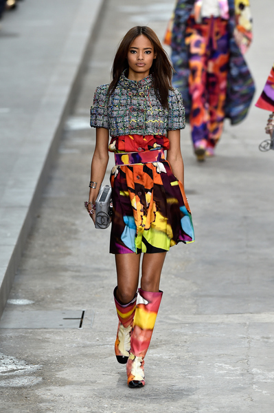 chanel fashion week, moda wiosna / lato 2015 chanel
