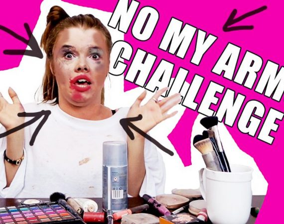 not my arms challenge, not my arms challenge make up, tutorial, makijaż, makijaz wieczorowy, parodia makijażu, parodia makijażowych , parodia make up, śmieszne, funny, eyes, smooky, funny, enjoyment, enjoy, now enjoyment